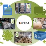 El proceso de reciclado en Alpesa