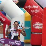 """Agustín Sieres: """"estoy acostumbrado a correr carreras pero esta es diferente porque corres con los compañeros"""""""