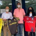 ODS 3 Y 11: ALPESA vertebra el deporte local con la firma de un acuerdo con el UE Tavernes