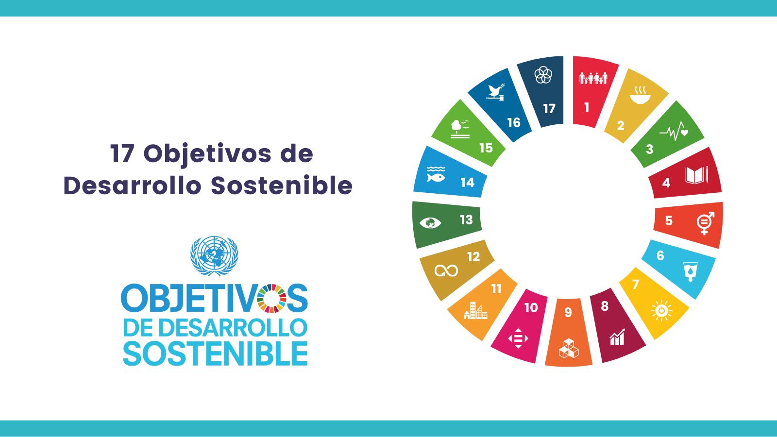 Azul Colorido Ruleta Estilo Sencillo ONU General Sociedad Civil ODS Publicación de Twitter